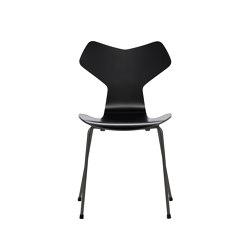Grand Prix™ | 3130, Black, lacquered, warm graphite base | Sillas | Fritz Hansen