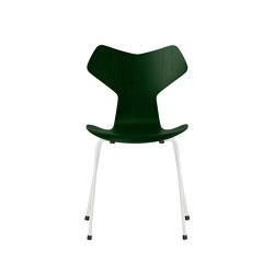 Grand Prix™ | 3130, Evergreen, coloured ash, white base | Chairs | Fritz Hansen