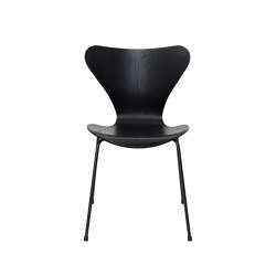 Series 7™ | 3107, Black, coloured ash, black base | Stühle | Fritz Hansen