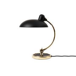 Kaiser Idell™ | 6631-T, Matt black, brass | Table lights | Fritz Hansen