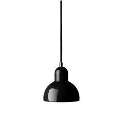Kaiser Idell™ | 6722-P, Black | Lámparas de suspensión | Fritz Hansen