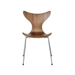 Lily™ | 3108, veneer, walnut | Sillas | Fritz Hansen