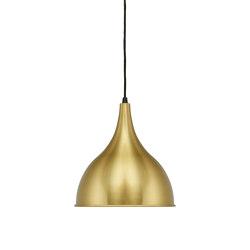 Silhuet | brushed brass | Suspended lights | Fritz Hansen