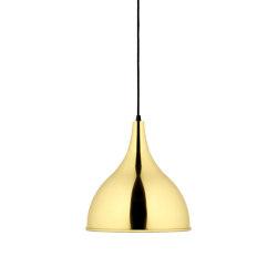 Silhuet | polished brass | Suspended lights | Fritz Hansen