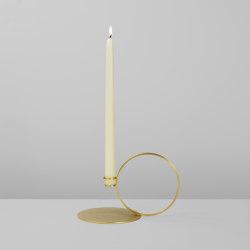 Bugia (Brushed brass) | Candlesticks / Candleholder | Roll & Hill