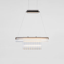 Coax - Pendant 01 (Polished Nickel) | Suspensions | Roll & Hill