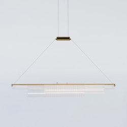 Coax - Pendant 03 (Polished Brass) | Lámparas de suspensión | Roll & Hill