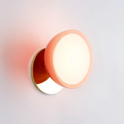 Geode Sconce (Polished brass/Pink) | Wall lights | Roll & Hill