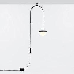 Krane - Small Ceiling Mount (Black/White) | Suspended lights | Roll & Hill
