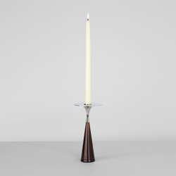 Moor (Brown/Polished nickel) | Candelabros | Roll & Hill