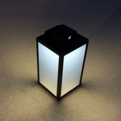 SOLAR lantern | LAS 500 black | Outdoor floor lights | LYX Luminaires