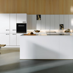 NX 110 Crystal white | Fitted kitchens | next125