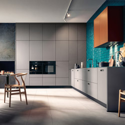 NX 912 Glass matt agate grey | Fitted kitchens | next125