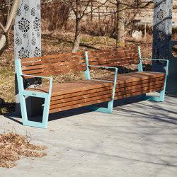Boston   Bench 2 pc   Bancos   Punto Design