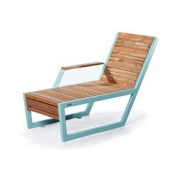 Boston | Sun lounger (right armrest) | Bains de soleil | Punto Design