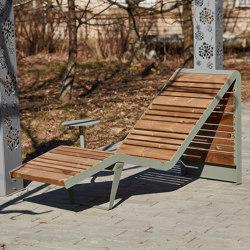 Infinity wood | Sun lounger | Bains de soleil | Punto Design