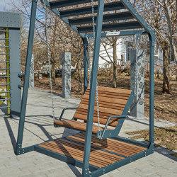 Lima | Hanging bench (armchair) | Schaukeln | Punto Design