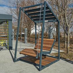 Lima | Hanging bench (sun lounger) | Schaukeln | Punto Design