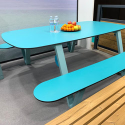Milano | Table | Table-seat combinations | Punto Design