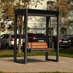 Relax | Hanging bench | Schaukeln | Punto Design