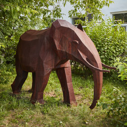 Sculptures | Elephant | Garden accessories | Punto Design