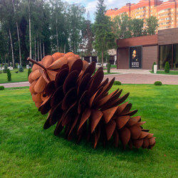 Sculptures | Pinecone | Garden accessories | Punto Design