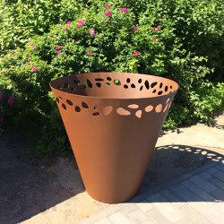 Steel | Planter | Pots de fleurs | Punto Design