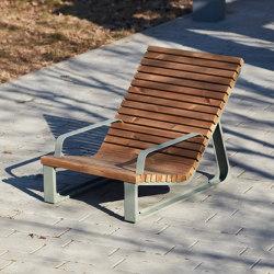 Summer | Sun lounger | Sillones | Punto Design