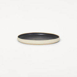 Otto plate | black | large | set of two | Dinnerware | Frama