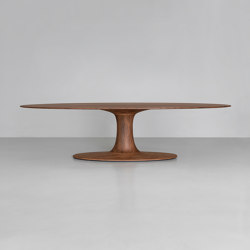 Turntable Oval | Tables de repas | Zeitraum