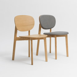 Zenso Wooden seat and wooden back | Sedie | Zeitraum