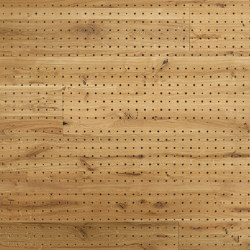 ACOUSTIC Dot Oak rustic brushed | Wood panels | Admonter Holzindustrie AG