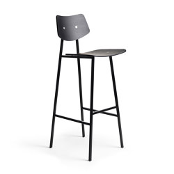 1960 Barchair High, Black Oak | Barhocker | Rex Kralj