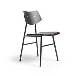 1960 Chair Seat offset upholstery, Black Oak | Chaises | Rex Kralj