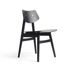 1960 Wood Chair, Black Oak   Chairs   Rex Kralj