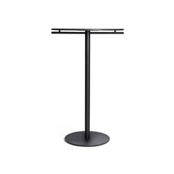 Ena High Table D70, Black | Tavoli alti | Rex Kralj