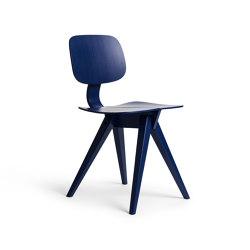 Mosquito Cobalt Blue Oak   Chairs   Rex Kralj