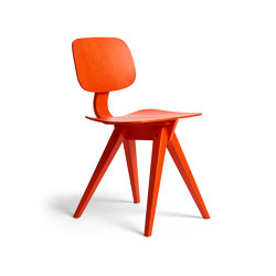 Mosquito Vermillion Red Oak | Chairs | Rex Kralj