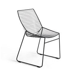 Zelo Chair, Matt Black Powdercoat   Stühle   Rex Kralj