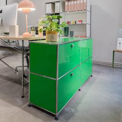 USM Haller Reception Station   USM Green   Counters   USM