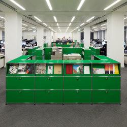 USM Haller Reception Station   USM Green   Comptoirs   USM