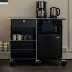 USM Haller Serving Cart | Anthracite | Carritos | USM