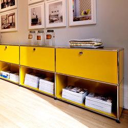 USM Haller Sideboard | Golden Yellow | Sideboards | USM