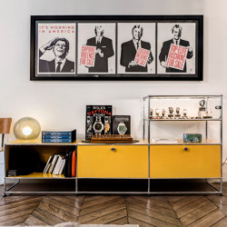 USM Haller Sideboard | Golden Yellow | Credenze | USM