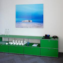 USM Haller Sideboard | USM Green | Sideboards | USM