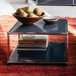 USM Haller Sidetable | Anthracite | Side tables | USM