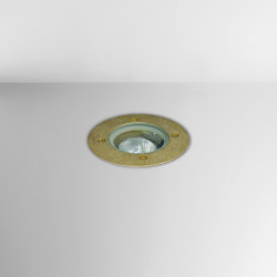 Nepa Ground Brass | Outdoor recessed floor lights | BRIGHT SPECIAL LIGHTING S.A.