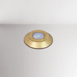 Nepa Ground Out Brass LED | Lampade outdoor su pavimento | BRIGHT SPECIAL LIGHTING S.A.