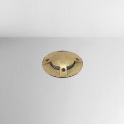 Nepa Steps Brass | Outdoor recessed floor lights | BRIGHT SPECIAL LIGHTING S.A.