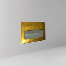 Nudo Dama Brass | Outdoor recessed wall lights | BRIGHT SPECIAL LIGHTING S.A.
